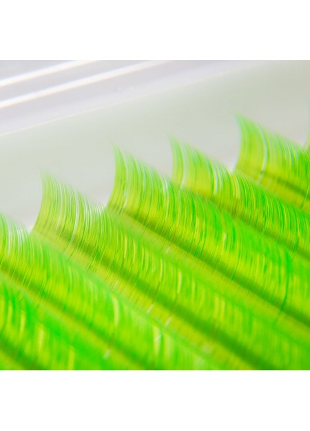 Řasy NEON green
